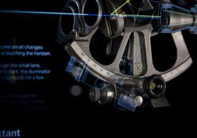 Presenting Hologram-like Animations Inside Showcases