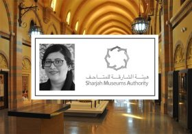Manal Ataya, Director General of Sharjah Museums, speaking at Museum Ideas