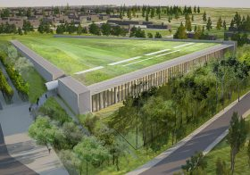 Louvre building new €60m Conservation and Storage Facility