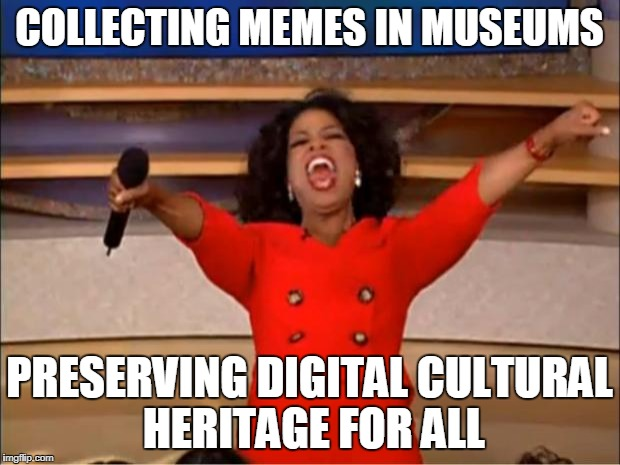 what does it meme when social media becomes part of the museum