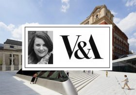 Elizabeth Galvin, V&A Digital Programmes lead, speaking at Museum Ideas 2018